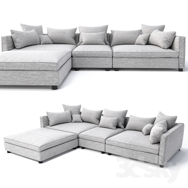 Bolia Mr.Big Sofa 3 Units And Pouf