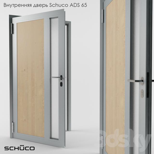 Schuco ADS inner door 65 & 3d models: Doors - Schuco ADS inner door 65