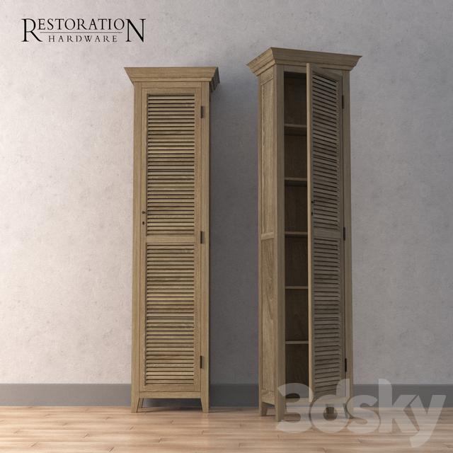 3d models: Wardrobe & Display cabinets - Restoration Hardware ...