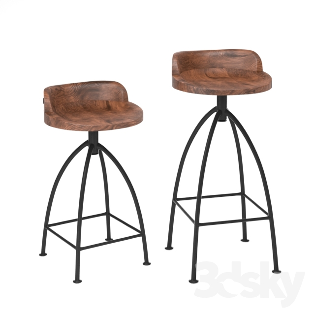 3d Models Chair Arteriors Home Henson Hinkley Wood And