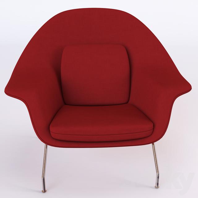 3d Models Arm Chair Knoll Womb Chair