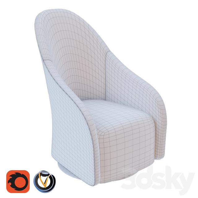 3d Models Arm Chair Armchair Bergere Sef 26a