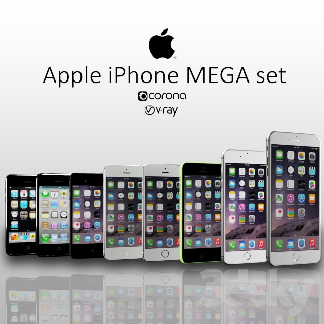 Iphone mega set