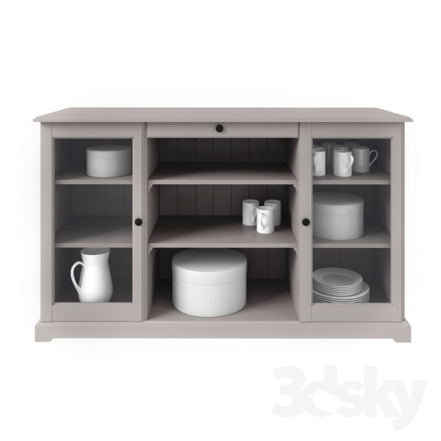 3d models sideboard chest of drawer liatorp sideboard. Black Bedroom Furniture Sets. Home Design Ideas