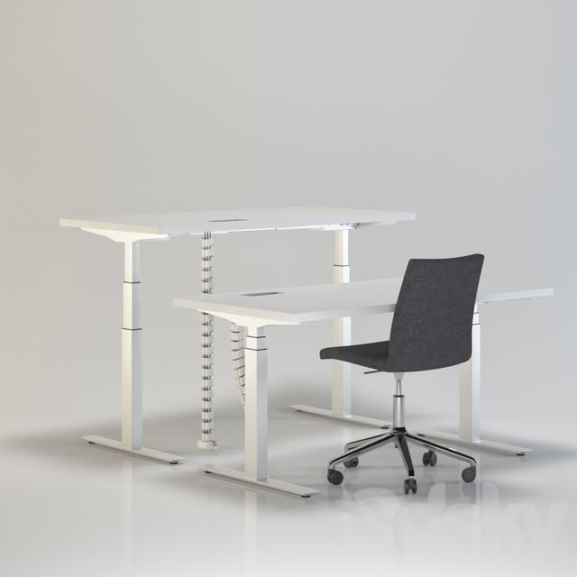 Brilliant Office Furniture  02 Royaltyfree 3d Model  Preview No 4