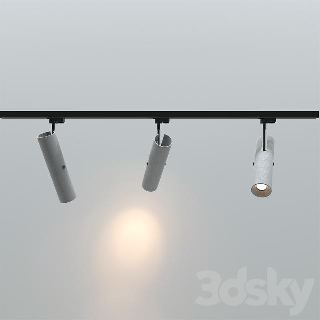 Track Lighting Maximum Length: 3d Models: Spot Light