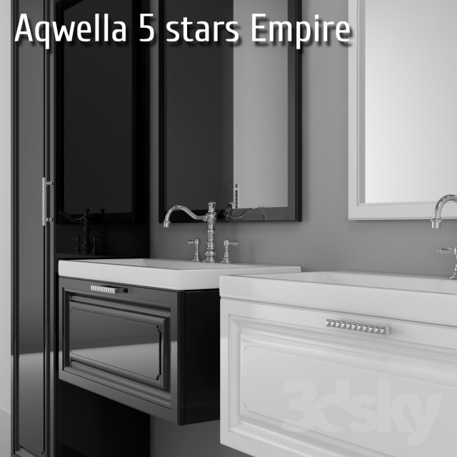 3d Models Bathroom Furniture Bathroom Furniture Aqwella