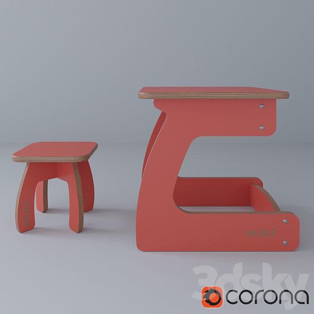 Set children's furniture