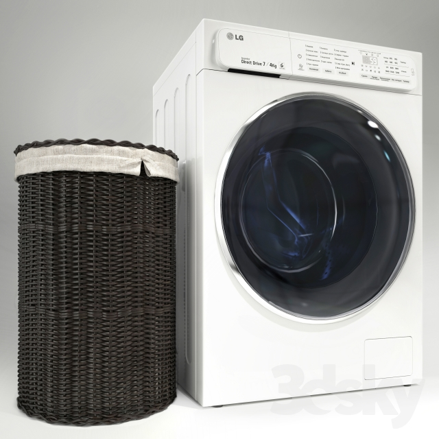 lg washing machine model