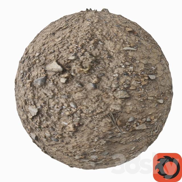 3d models miscellaneous gravel soil dirt photogrammetry for Soil 3d model