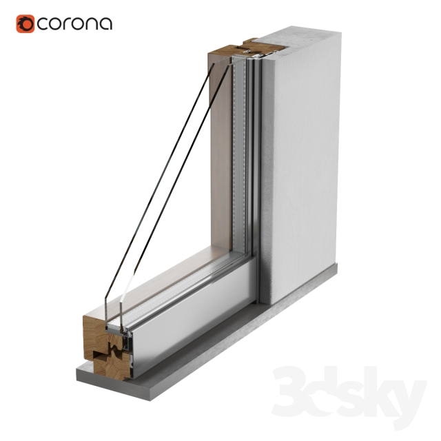 3d Models Windows Frame Window