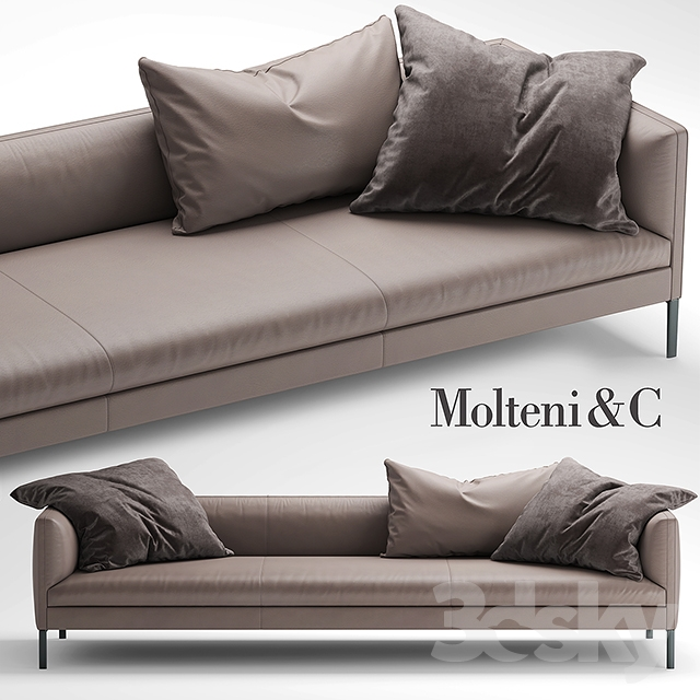 3d models sofa sofa molteni sofa paul. Black Bedroom Furniture Sets. Home Design Ideas