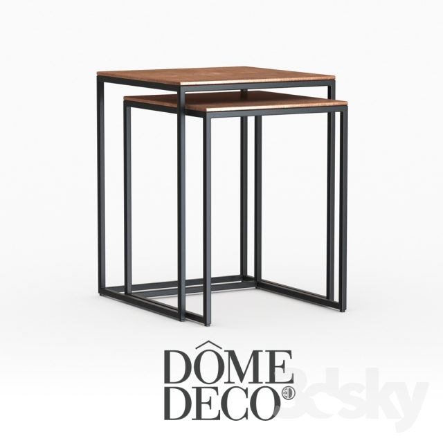 3d Models Table Dome Deco Coffee Tables
