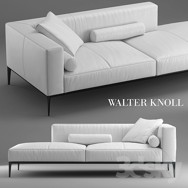 3d models sofa sofa jaan living walter knoll. Black Bedroom Furniture Sets. Home Design Ideas