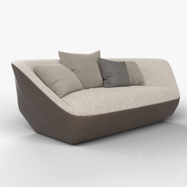 3d models sofa walter knoll isanka sofa. Black Bedroom Furniture Sets. Home Design Ideas