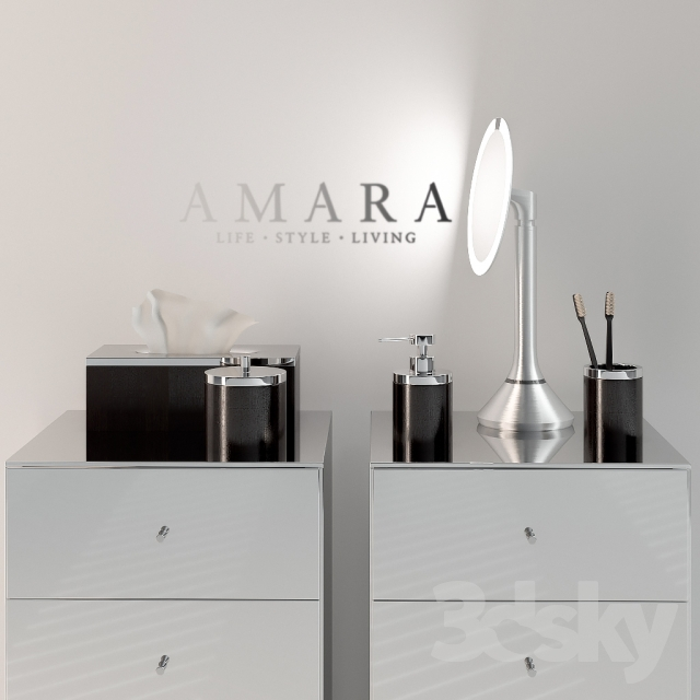 3d Models Bathroom Accessories Accessories From Amara
