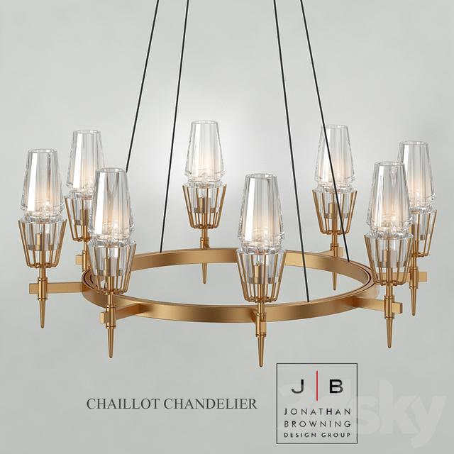 jonathan browning lighting. Chandelier Jonathan Browning Chaillot Lighting