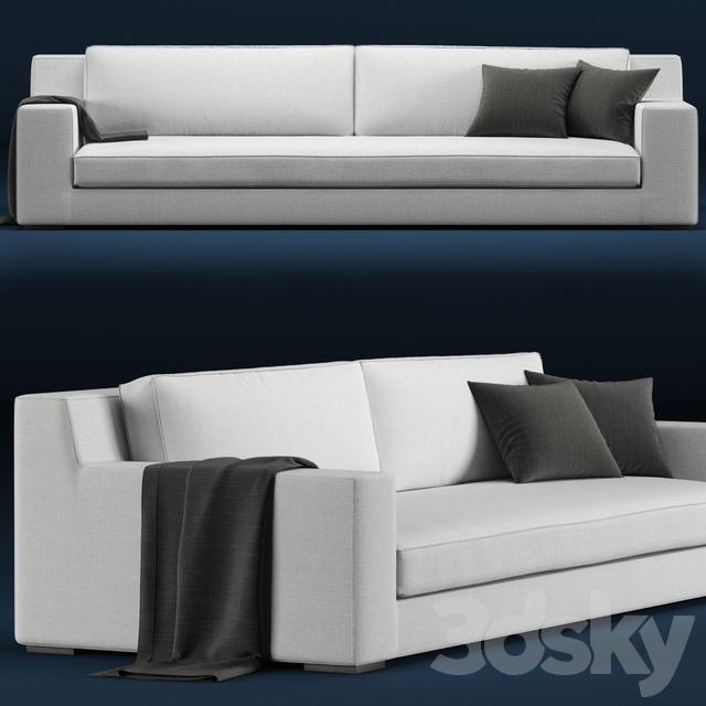 Swell 3D Models Sofa Rh Modern Modena Sofa Frankydiablos Diy Chair Ideas Frankydiabloscom