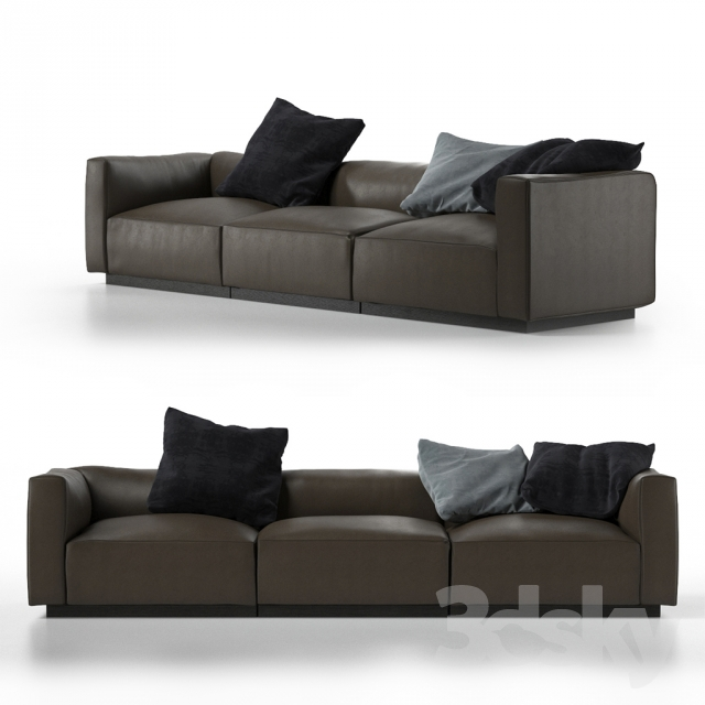 3d models sofa walter knoll living landscape 740. Black Bedroom Furniture Sets. Home Design Ideas