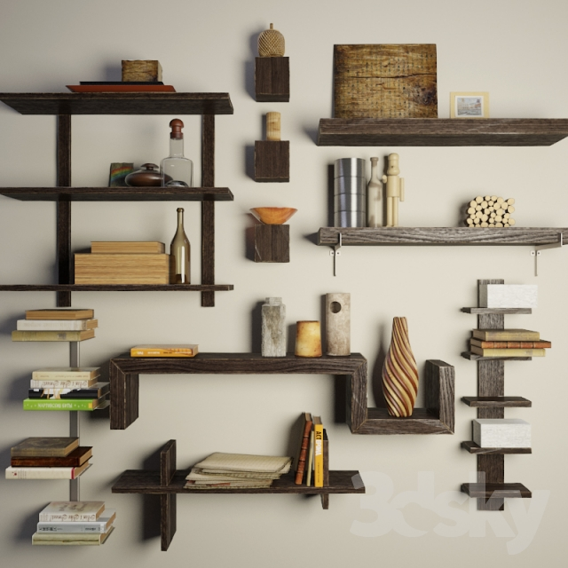 Shelves With Decor