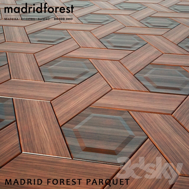 MADRID FOREST PARQUET TILES