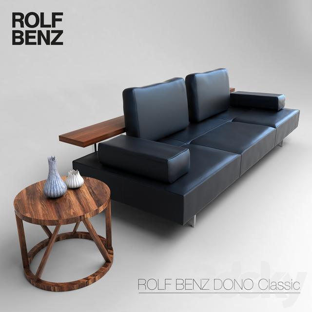 3d Models Sofa Rolf Benz Dono