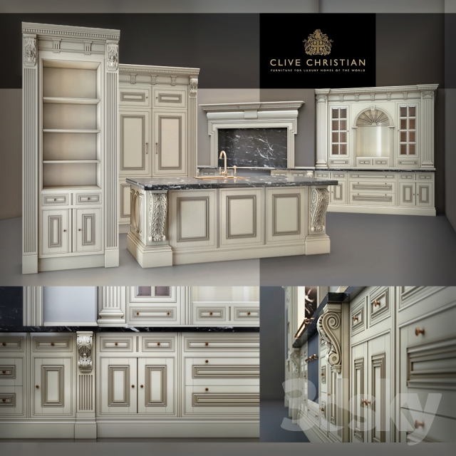 Clive Christian Kitchen: Clive Christian / Architectural