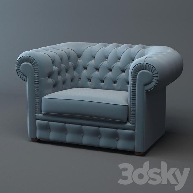 3d Models Arm Chair Chelsi Armchair