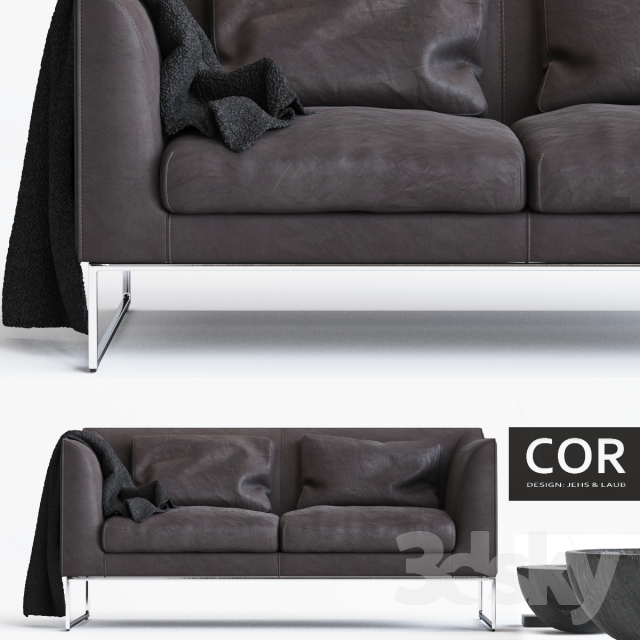 3d models sofa cor mell. Black Bedroom Furniture Sets. Home Design Ideas