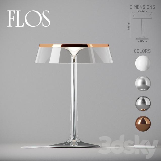 3d models table lamp flos bon jour for Flos bon jour