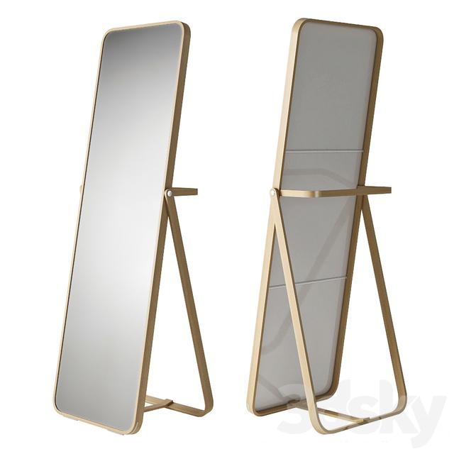 3d models mirror ikea ikornnes. Black Bedroom Furniture Sets. Home Design Ideas