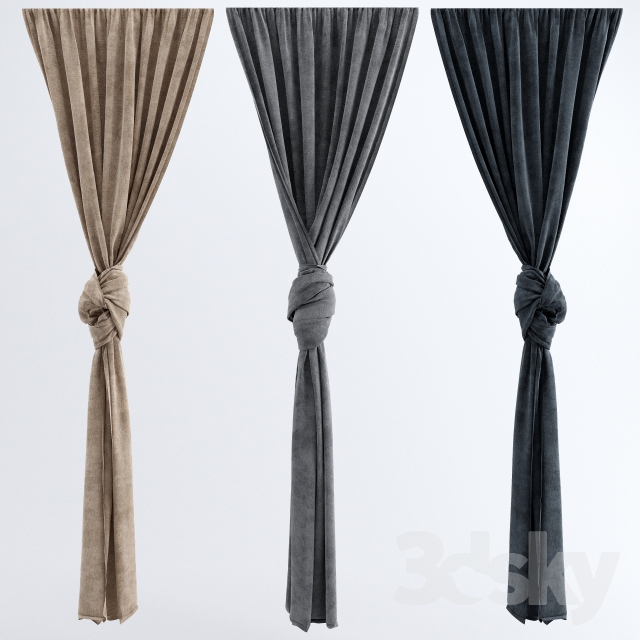 3d Models Curtain