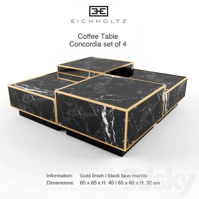 Eichholtz Coffee Table Concordia Set Of 4