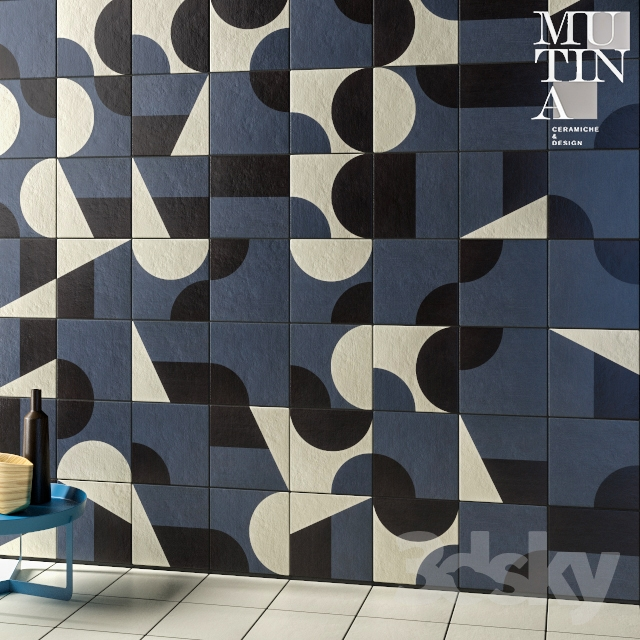 Tile Puzzle by Mutina - set 02