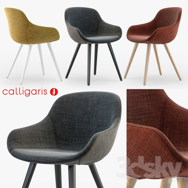 3d models chair calligaris igloo armchair for Calligaris igloo