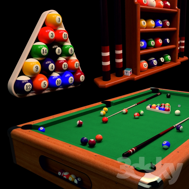 Pool Table Modern Suite II 8ft Sail