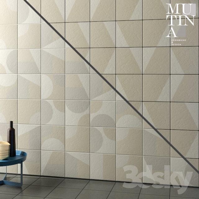 Tile Puzzle by Mutina - set 03