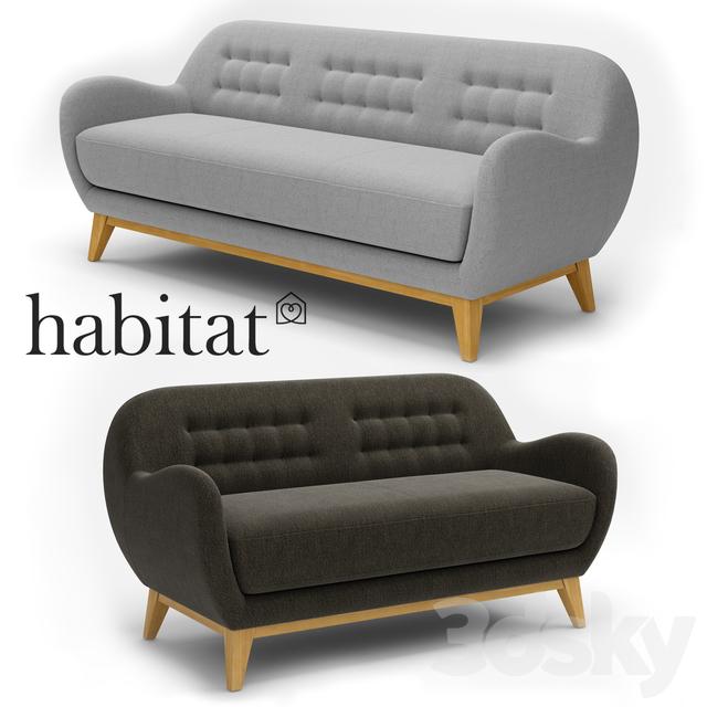 Sofa Habitat Collection Balthasar Fabric Cxsew0qg