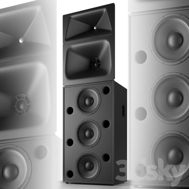 Acoustic system QSC SC-434