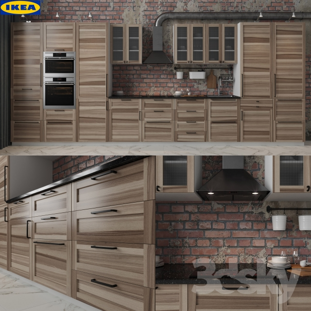 Ikea Kitchen Gallery: 3d Models: Kitchen