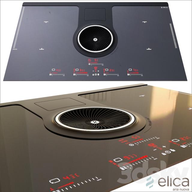 3d models kitchen appliance elica nikolatesla hp bl f 83. Black Bedroom Furniture Sets. Home Design Ideas