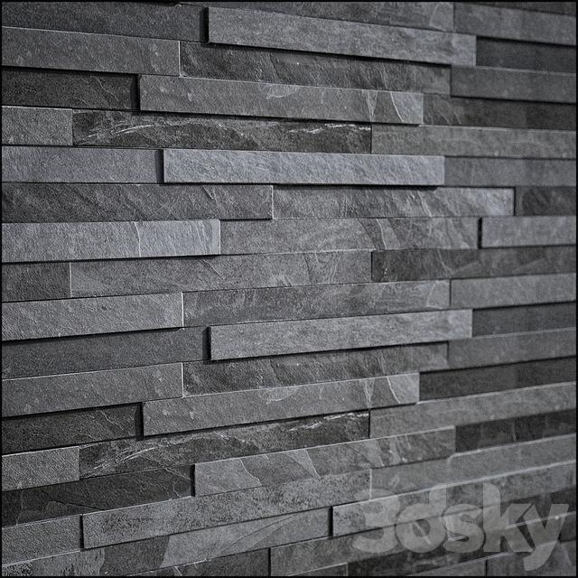 3d Models Stone Slate Stone