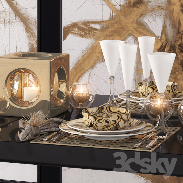 3d models Tableware Dinnerware set : 743302583dea2d54f6c from 3dsky.org size 640 x 640 png 1603kB