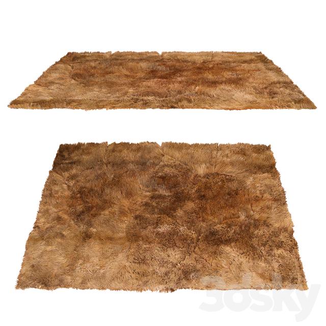Carpet Fluffy Brown / Soft Dark Brown