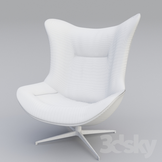 3d models arm chair ligneroset amy. Black Bedroom Furniture Sets. Home Design Ideas