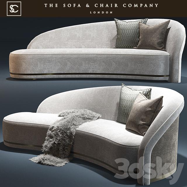 Fine 3D Models Sofa Mouna Daybed The Sofa And Chair Company Creativecarmelina Interior Chair Design Creativecarmelinacom