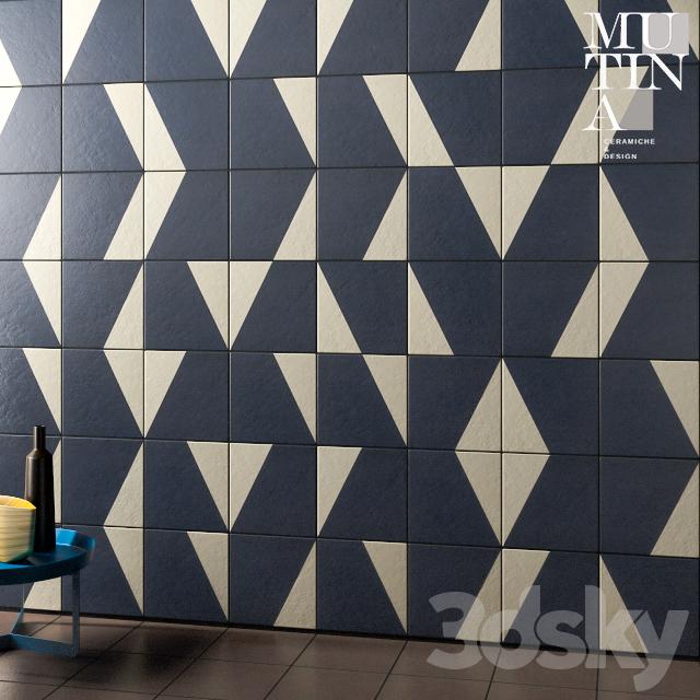 Tile Puzzle by Mutina - set 02B