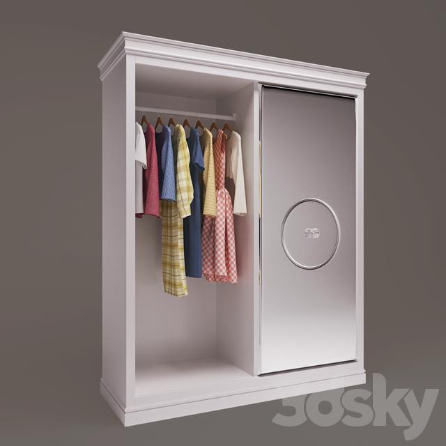 Children's wardrobe DOLFI 3072