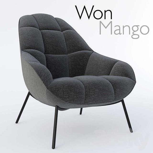 3d Models Arm Chair Won Mango