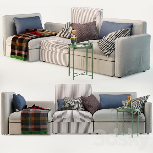 3d models sofa ikea vallentuna for 3d raumgestaltung ikea